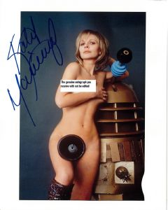 "Katy Manning ""Jo Grant"" Companion (Doctor Who) Genuine Autograph 10x8 11163"